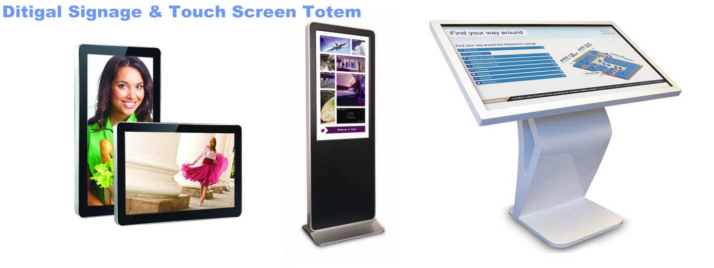 digital signage,touch screen kiosk,interactive kiosk