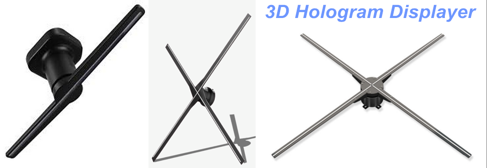 3d holo fan, 3d hologram display, 3d hologram displayer, 3D Holographic Advertising Display