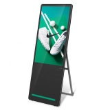 lcd advertising digital poster display Portable indoor digital signage and displays