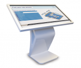 touch screen kiosk, touch screen totem, interactive touch kiosk
